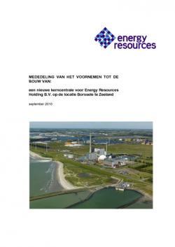 Mededeling tot bouw kerncentrale Borssele